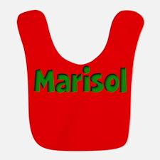 Marisol Red and Green Bib