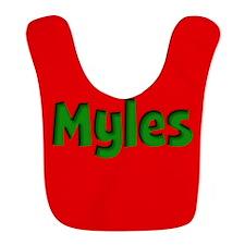 Myles Red and Green Bib