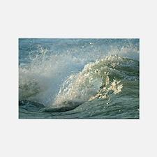 Upper Rapids wave curl Rectangle Magnet