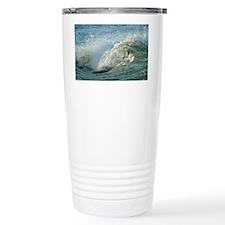 Upper Rapids wave curl Travel Mug
