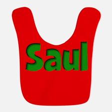 Saul Red and Green Bib