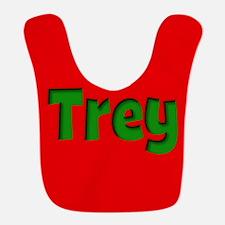 Trey Red and Green Bib