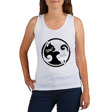 yin-yang-cats Women's Tank Top