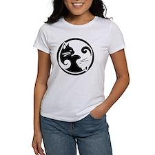 yin-yang-cats Tee