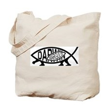 Lynn Margulis Fish Tote Bag