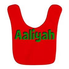 Aaliyah Red and Green Bib