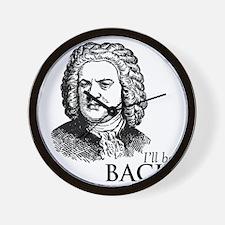 ill_be-bach Wall Clock