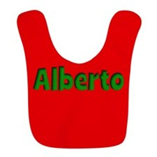 Alberto Red and Green Bib