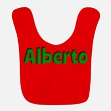 Alberto Red and Green Bib