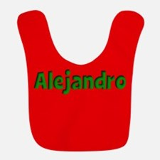 Alejandro Red and Green Bib