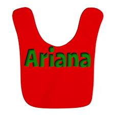 Ariana Red and Green Bib
