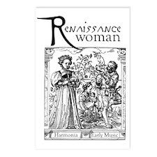 ren_woman Postcards (Package of 8)