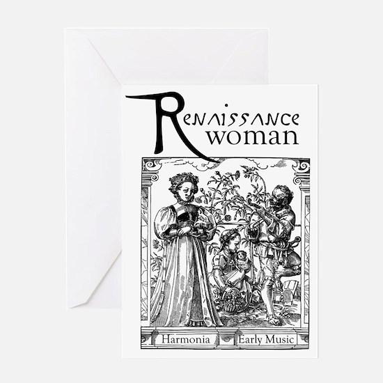 ren_woman Greeting Card