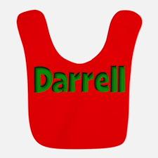 Darrell Red and Green Bib