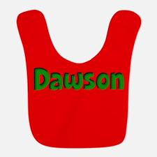 Dawson Red and Green Bib
