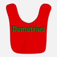 Demetrius Red and Green Bib