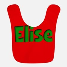 Elise Red and Green Bib