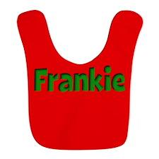 Frankie Red and Green Bib