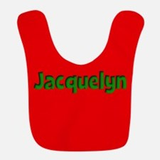 Jacquelyn Red and Green Bib