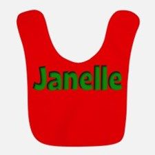 Janelle Red and Green Bib
