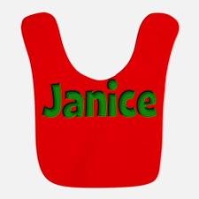 Janice Red and Green Bib