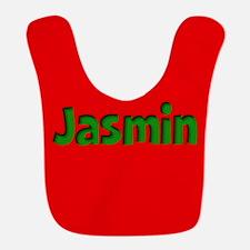 Jasmin Red and Green Bib