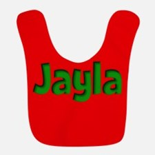 Jayla Red and Green Bib