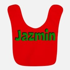Jazmin Red and Green Bib