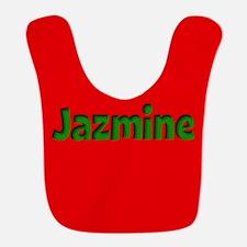 Jazmine Red and Green Bib