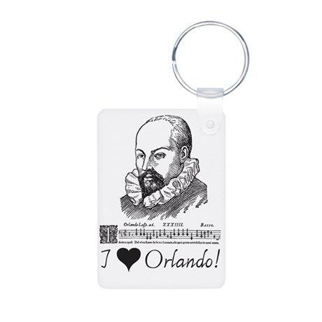 orlando Aluminum Photo Keychain