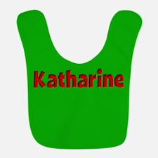 Katharine Green and Red Bib