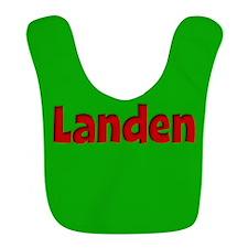 Landen Green and Red Bib