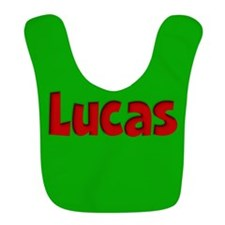 Lucas Green and Red Bib