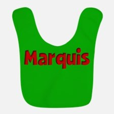Marquis Green and Red Bib
