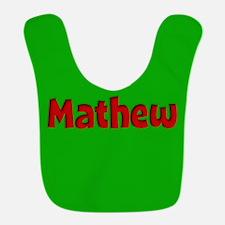 Mathew Green and Red Bib