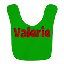 Valerie Green and Red Bib