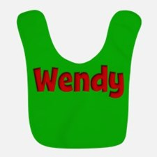 Wendy Green and Red Bib