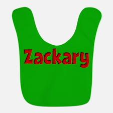 Zackary Green and Red Bib