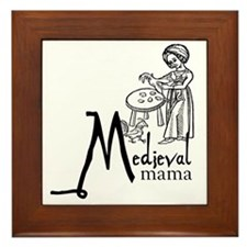 medieval Mama2 Framed Tile