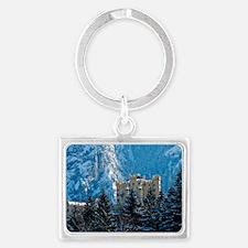 Germany Hohenschwangau Castle Landscape Keychain