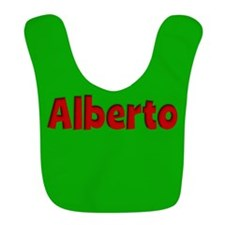 Alberto Green and Red Bib