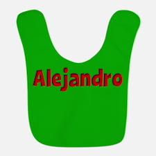 Alejandro Green and Red Bib