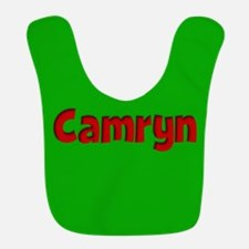 Camryn Green and Red Bib