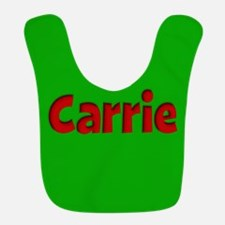 Carrie Green and Red Bib