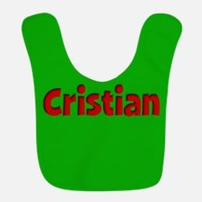 Cristian Green and Red Bib