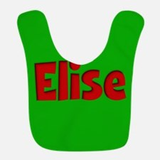 Elise Green and Red Bib