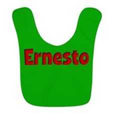Ernesto Green and Red Bib