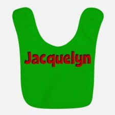 Jacquelyn Green and Red Bib
