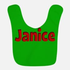 Janice Green and Red Bib