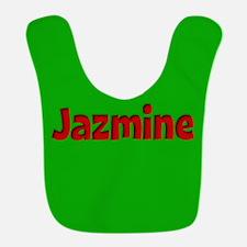 Jazmine Green and Red Bib